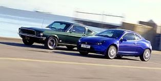 Racing Puma & 1968 Ford Mustang GT390