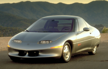 Saturn EV-1: One of the first mass produced Electric cars